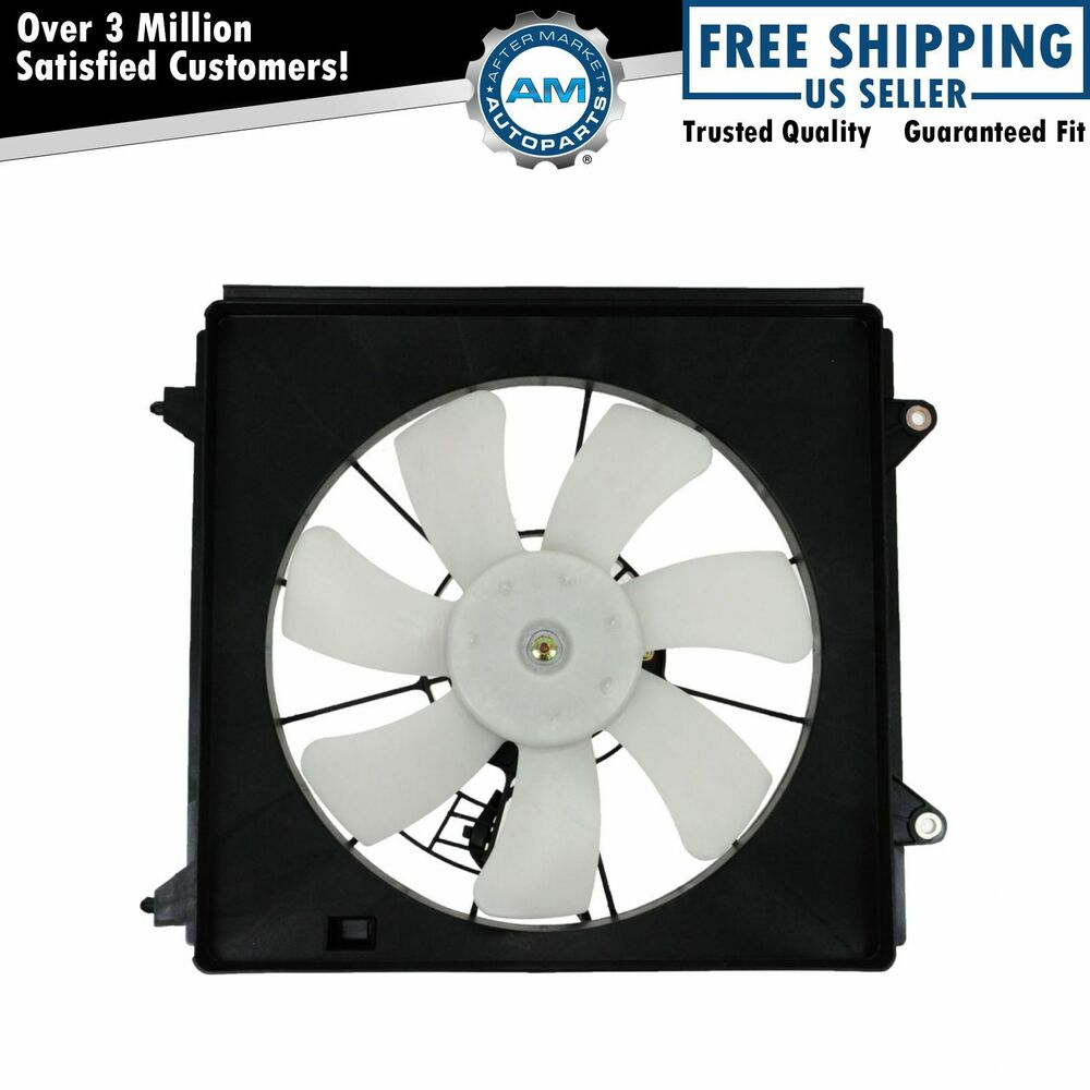 A c ac condenser fan assembly denso replacement for tsx for Ac condenser fan motor replacement