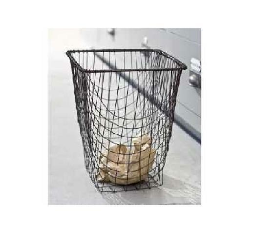 Shabby French Country Chic Office Wire Waste Basket Trash