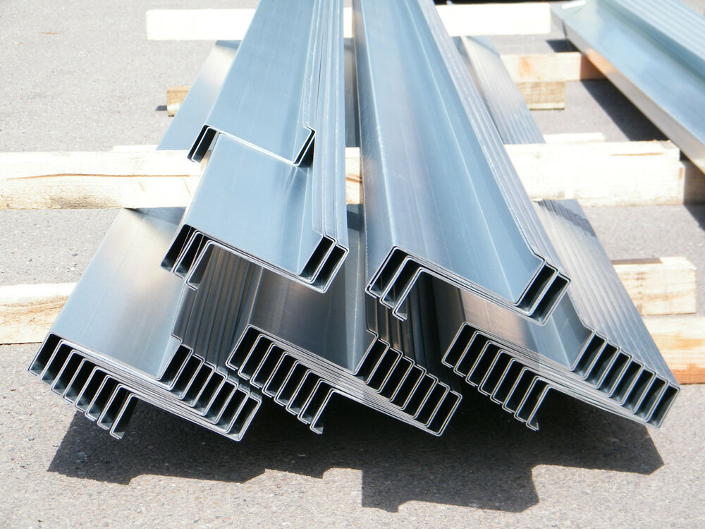 Z Purlin Steel Sheeting Rails Made To Any Length 175mm