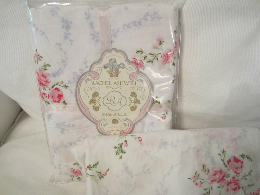 Shabby Chic Pillow Shams : Rachel ASHWELL SHaBby Chic Springwreath Pink Roses Pillow Sham YOU CHOOSE SIZE eBay