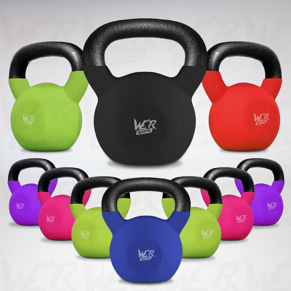 Kettlebell Courses Home: We R Sports Kettlebells With Rubber Sleeve Home Gym