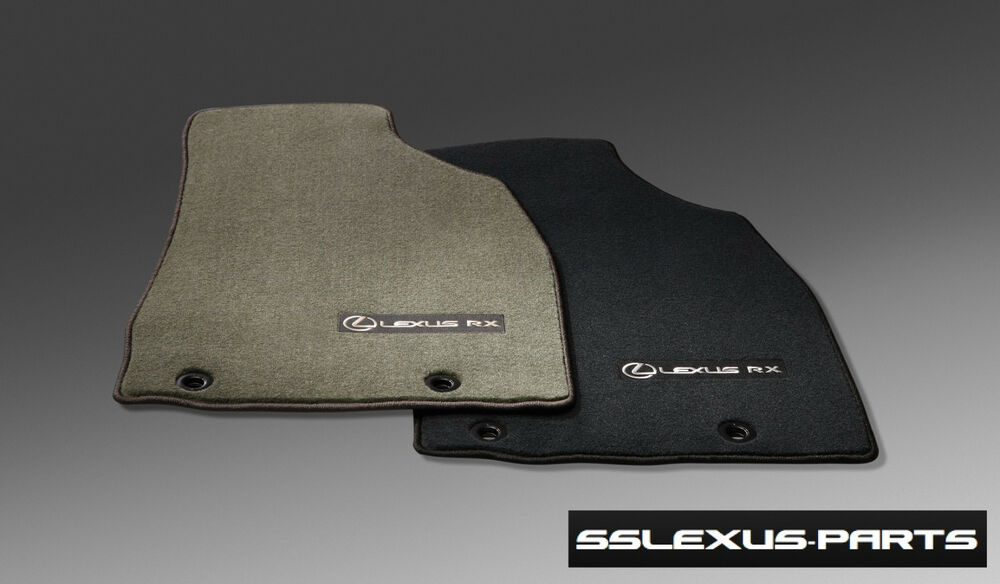 lexus rx350 rx450h 2013 2015 4pc oem carpet floor mats. Black Bedroom Furniture Sets. Home Design Ideas