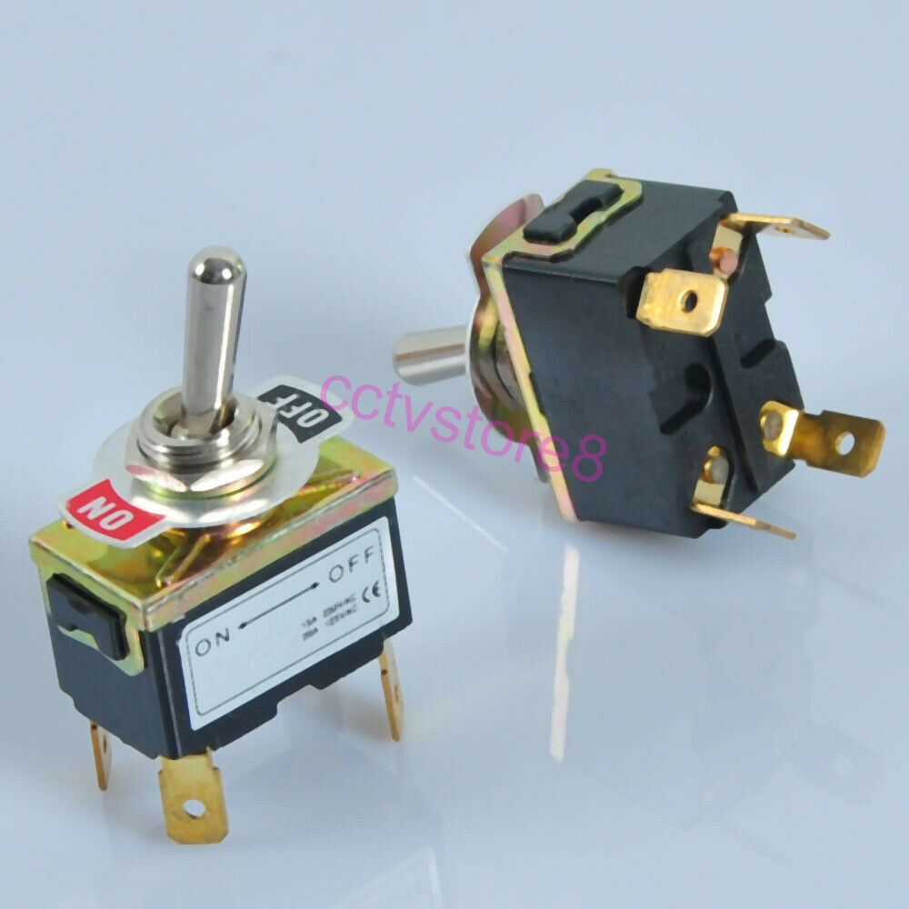 2pc toggle switch 4pin dpst on off heavy duty f guitar tube amp power audio hifi ebay. Black Bedroom Furniture Sets. Home Design Ideas