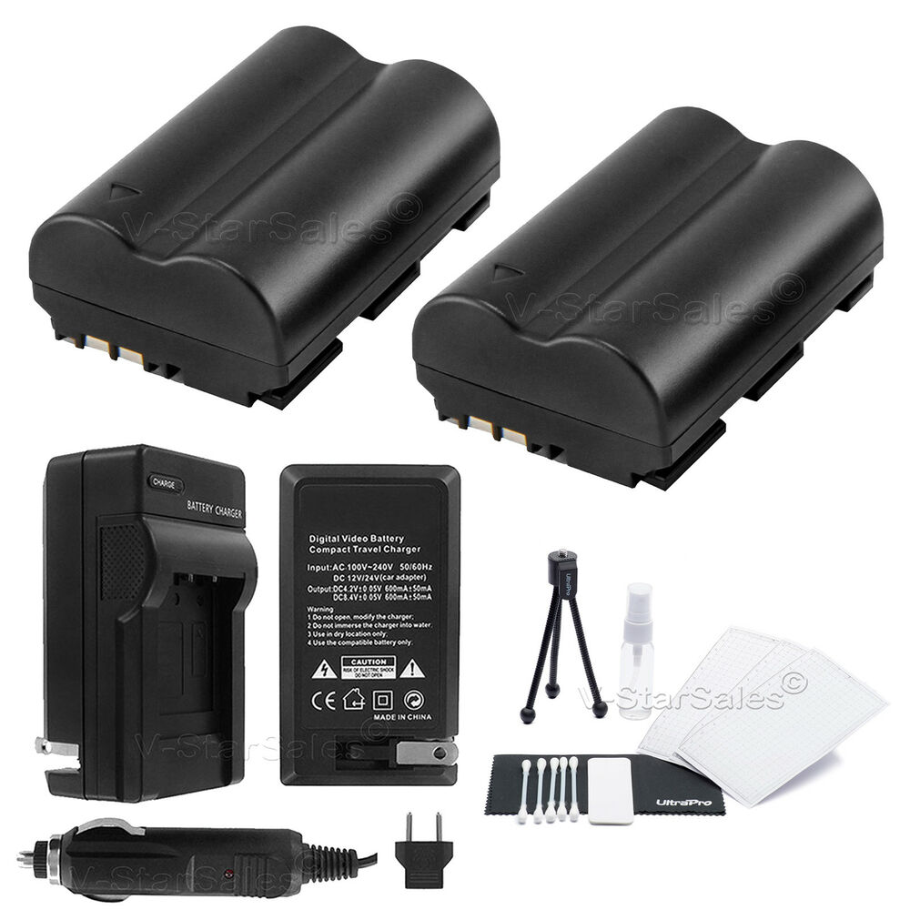 Bp 511a Battery X2 Charger For Canon Eos 10d 1d 5d 20d