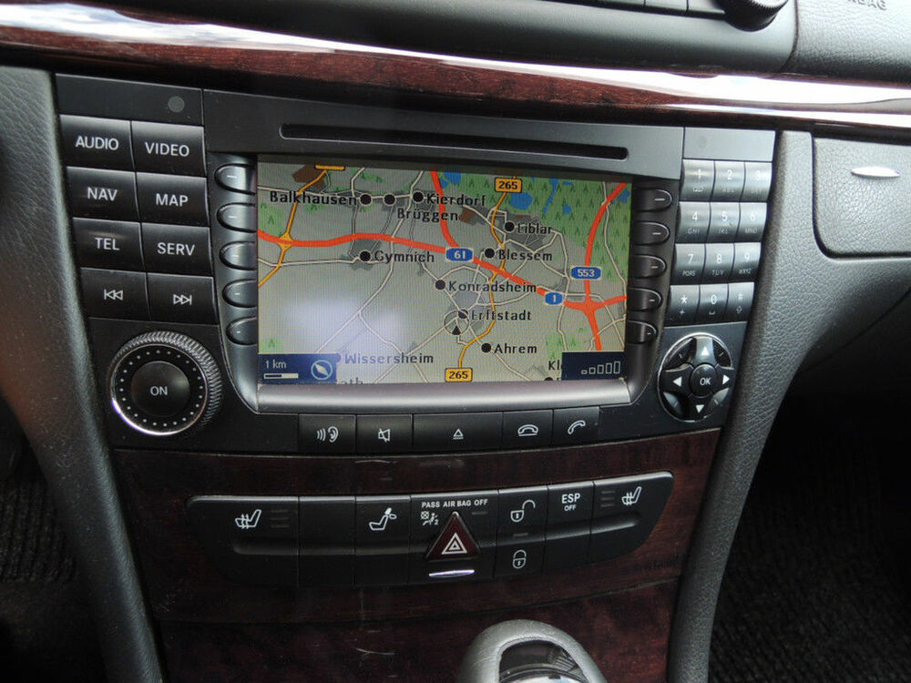 mercedes comand aps w211 cls w219 agw gps navigation. Black Bedroom Furniture Sets. Home Design Ideas