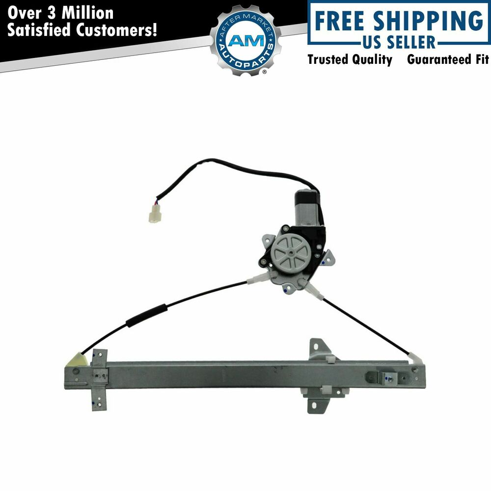 Front Power Window Regulator W Motor Driver Side Lh For