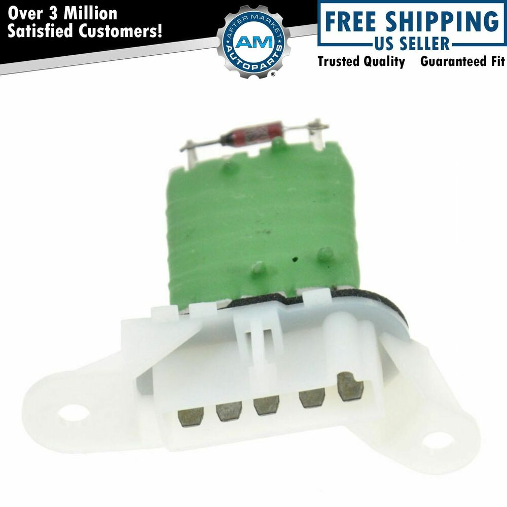 Ac delco 15 80647 heater blower motor resistor for chevy for Ac delco blower motor resistor