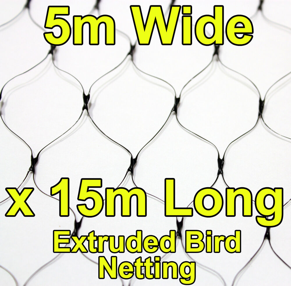 how to join bird netting