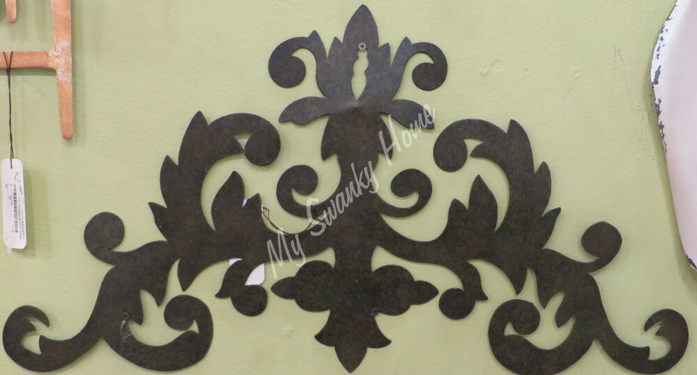 Metal Scroll Iron Wall Art Grille Neiman Marcus Antique