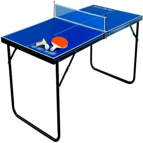 Mini indoor tennis table ping pong with paddles balls ebay for Small ping pong balls