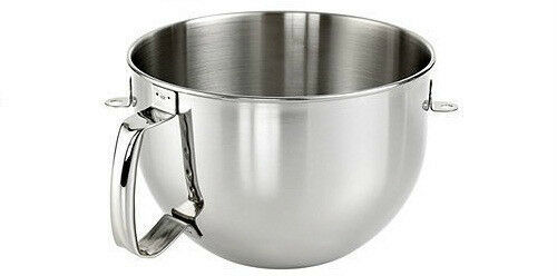 New Kitchenaid Bowl For Stand Mixer 6 Quart Stainless