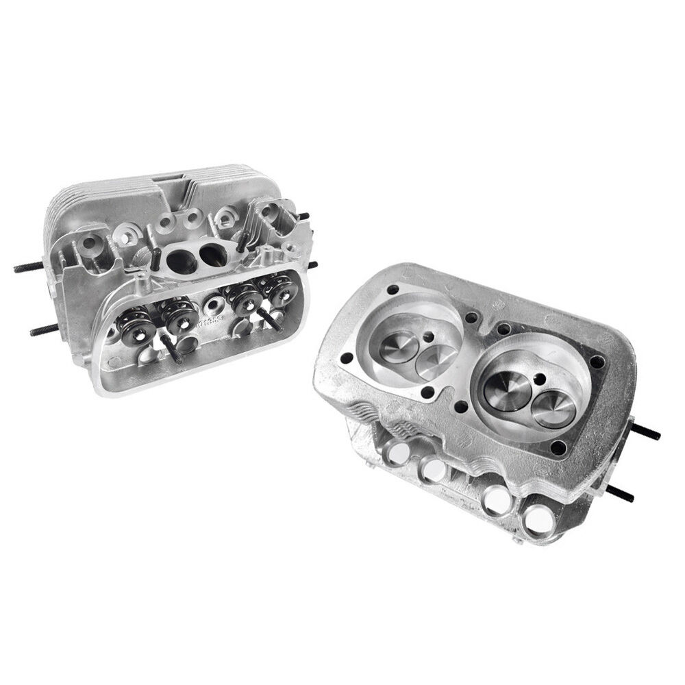 Vw 1600 New Engine: NEW Pair VW 1600 DUAL PORT CYLINDER HEADS, 94mm BORE