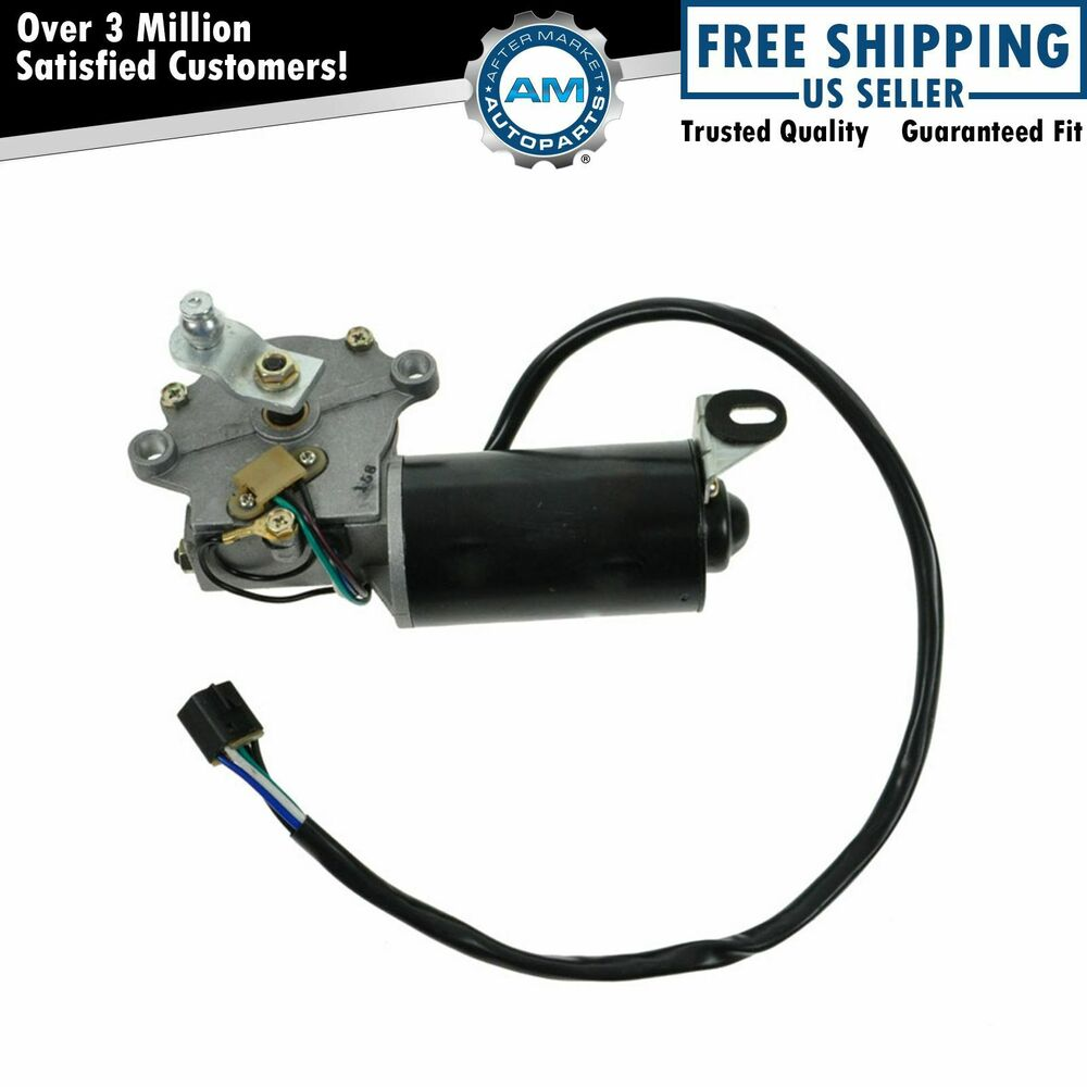 Front Windshield Window Wiper Motor New For 87