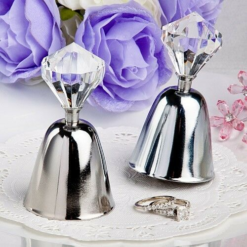 dazzling bell favor wedding reception gift party kissing diamond