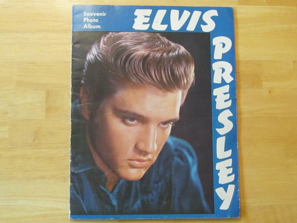 elvis presley souvenir photo album original rare 1956 ebay. Black Bedroom Furniture Sets. Home Design Ideas