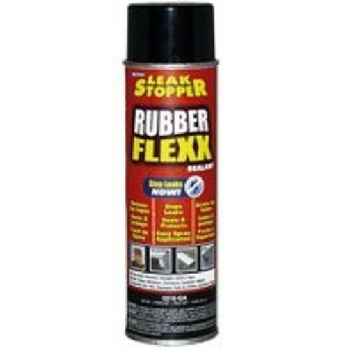 Permatex Spray Sealant Leak Repair >> NEW LEAK STOPPER 0316-GA RUBBER FLEXX FLEX 18OZ SPRAY ROOF REPAIR SEALANT | eBay