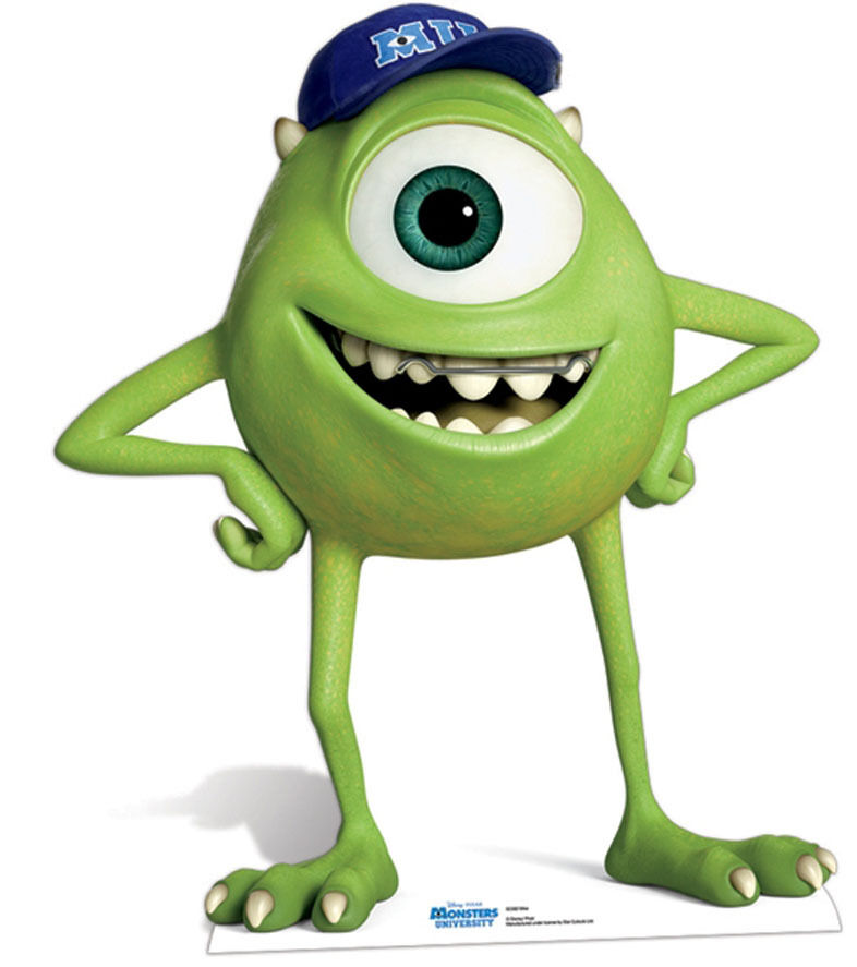 mike-sulley-studying | The Disney Blog |Monster University Character Mike