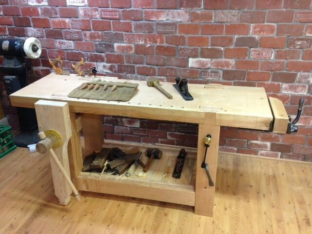 Roubo Fine Woodworking Workbench Work Bench Ebay