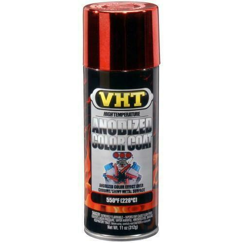 vht anodized red chrome color coat 11 oz aerosol spray paint can vht. Black Bedroom Furniture Sets. Home Design Ideas