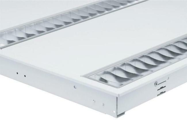 Philips Twin 14w Fluorescent Tube Grid Ceiling Recessed ...