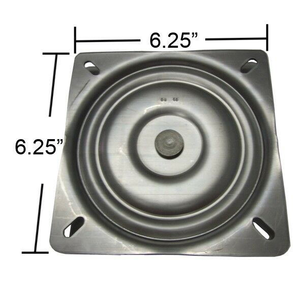 6 25 Quot Flat Replacement Bar Stool Swivel Made In Usa