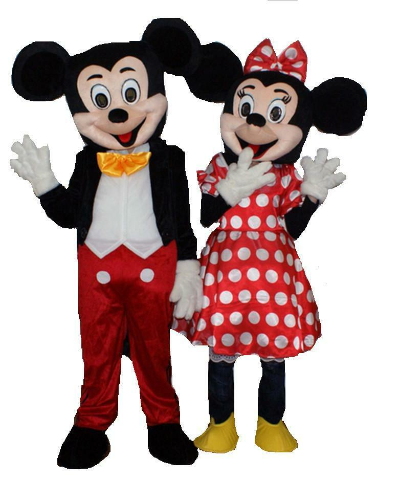 Advise you Mickey and minnie mouse adult costume