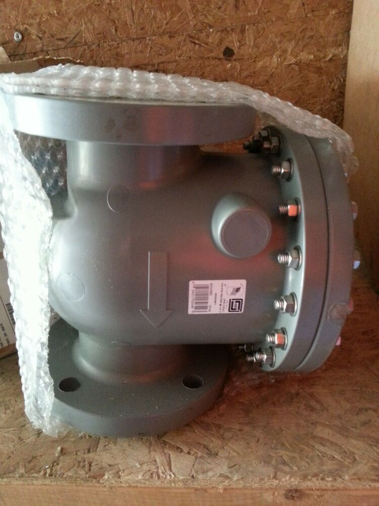Quot spears cpvc flanged swing check valve epdm o ring ebay