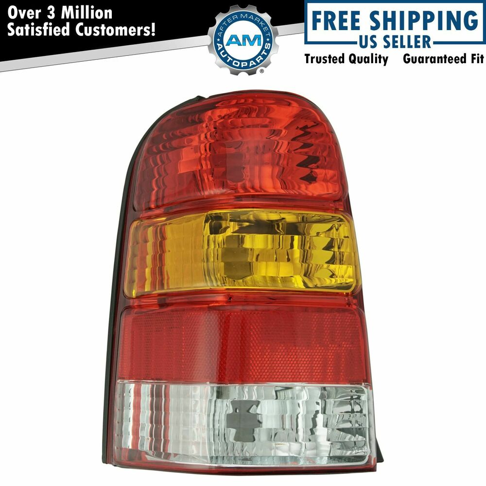 taillight taillamp rear brake light driver side left lh. Black Bedroom Furniture Sets. Home Design Ideas