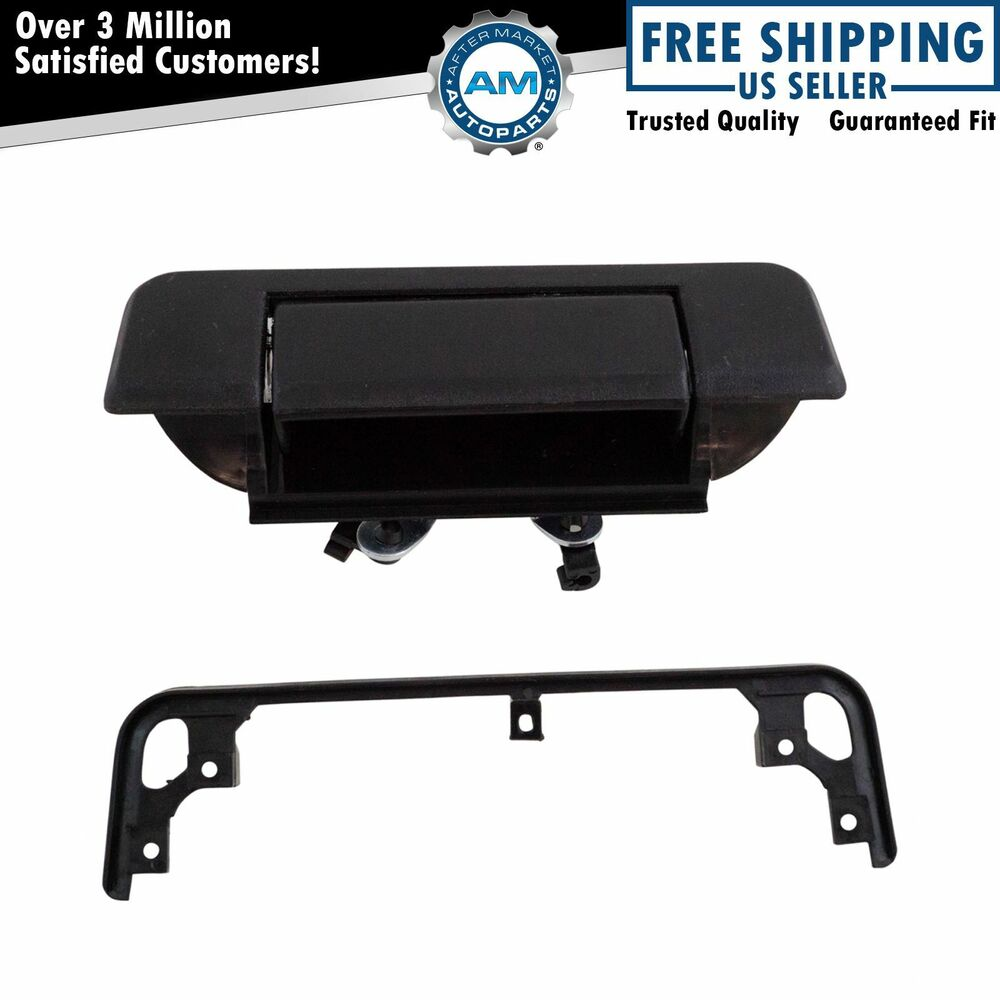 84 Toyota Pickup For Sale: Tailgate Tail Gate Handle Black Rear For 84-88 Toyota