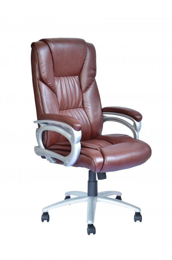 New high back leather executive office desk task computer chair w