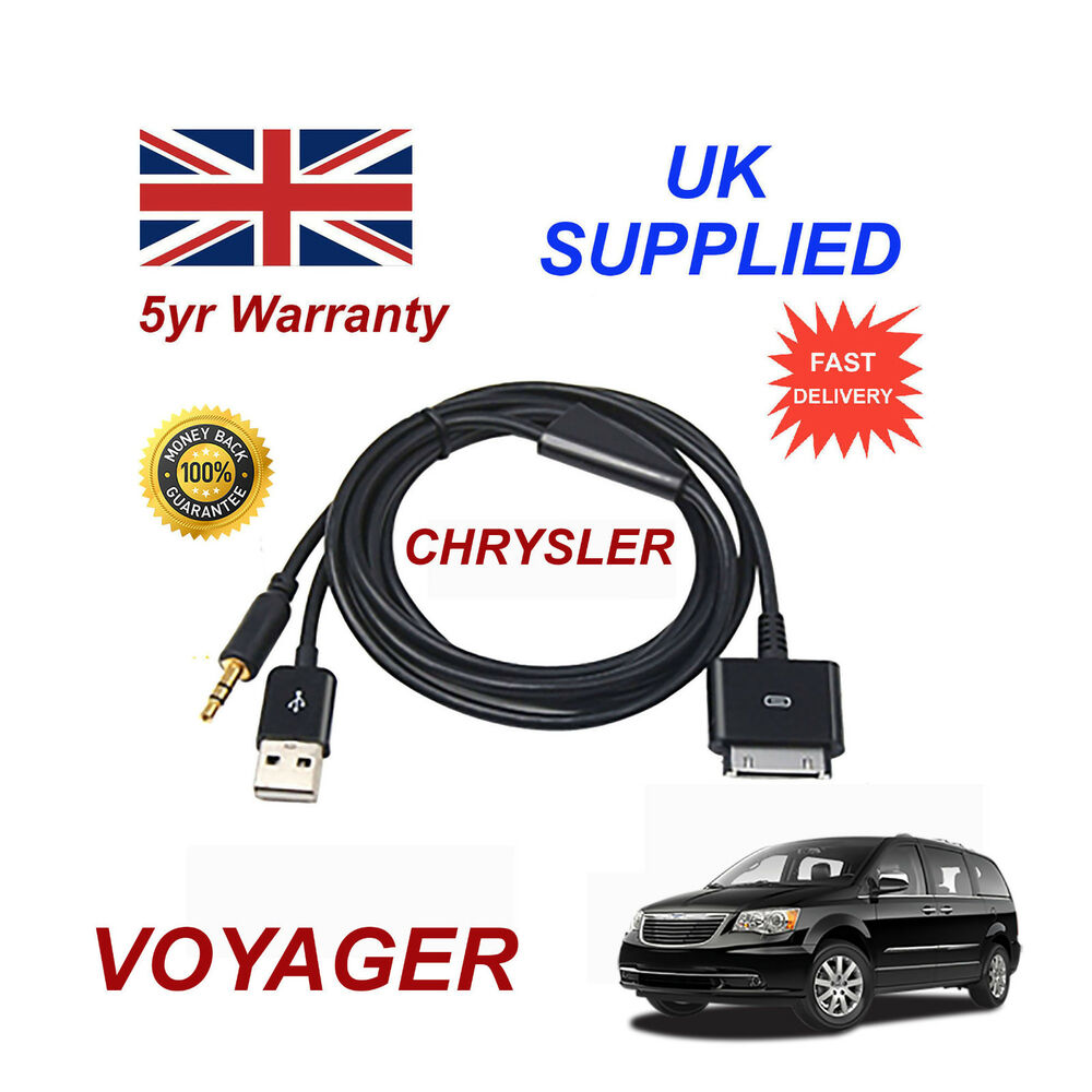 CHRYSLER VOYAGER MULTIMEDIA ADAPTER 71805430 IPhone IPod