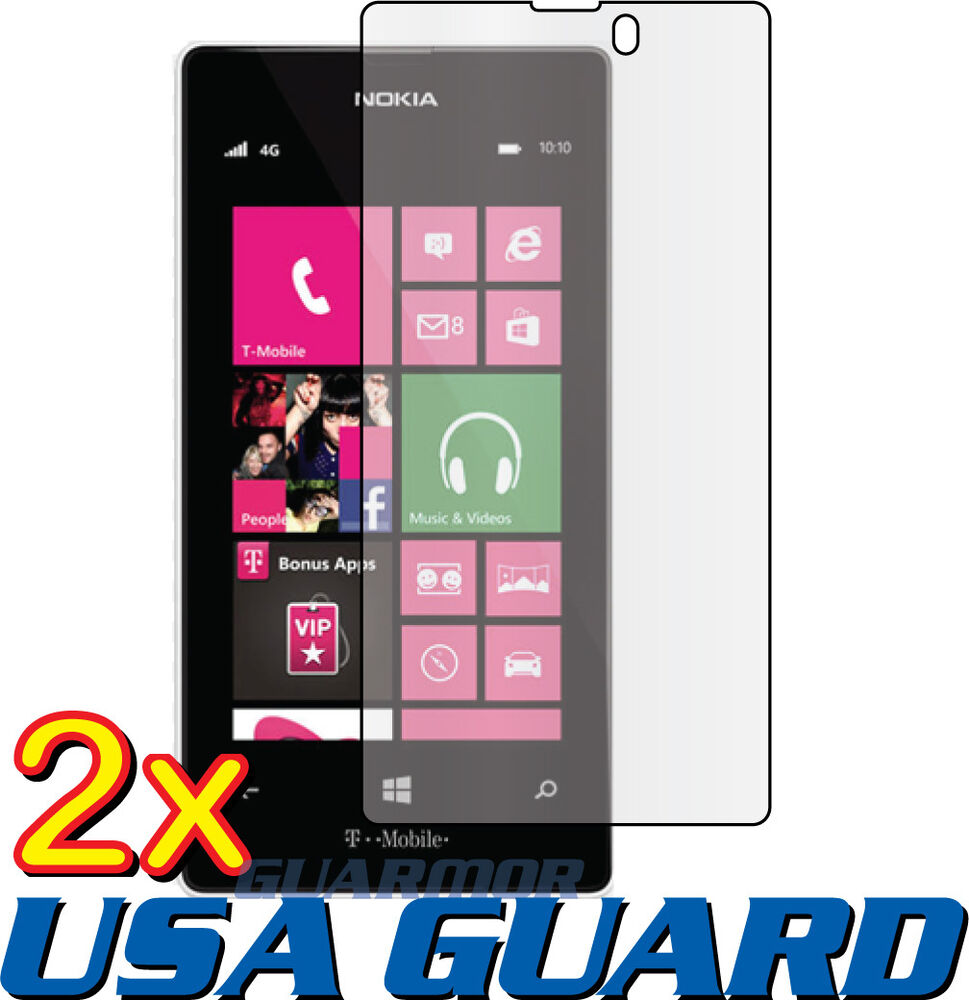 Review T Mobile Nokia Lumia 521: 2x Clear LCD Screen Protector Guard Cover Film T-Mobile