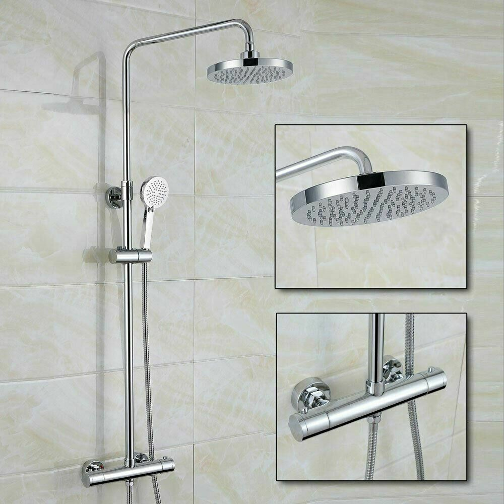 Helen Modern Dual Control Thermostatic Shower Mixer Tap