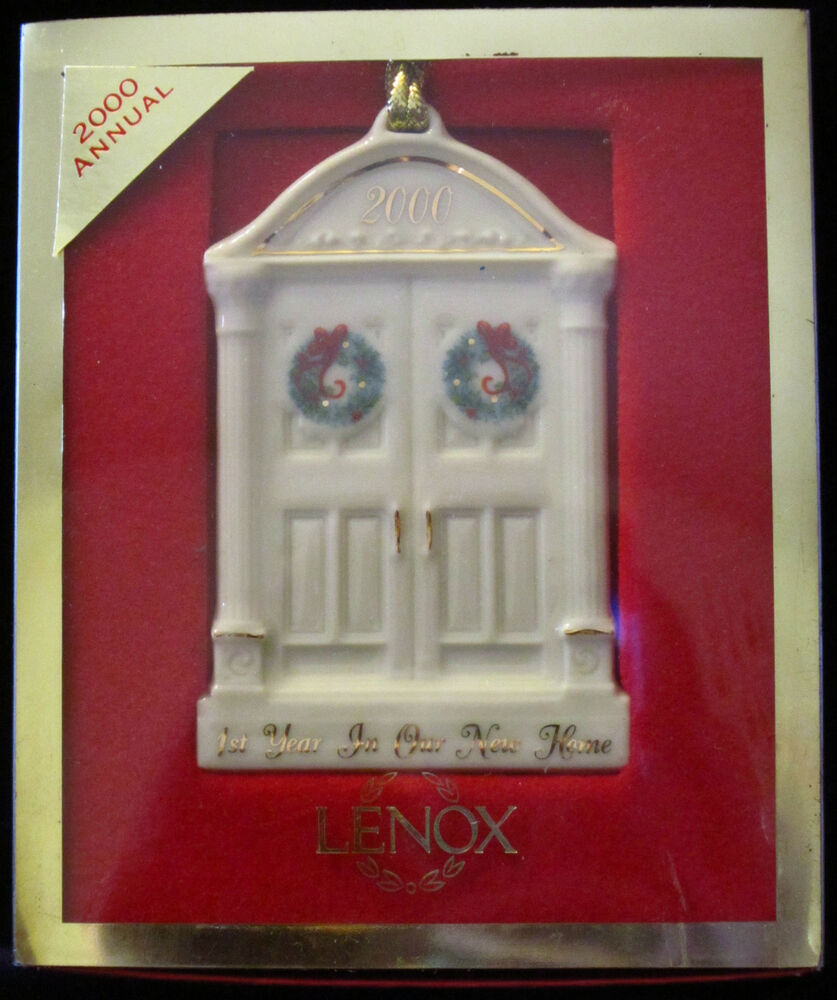 Lenox Christmas Tree Ornament 1st Year in Our New Home ...