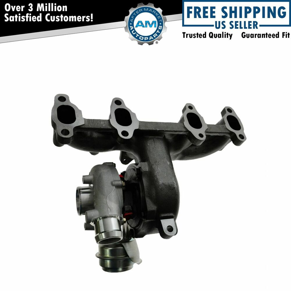diesel turbocharger turbo w exhaust manifold for vw beetle golf jetta tdi 1 9l ebay. Black Bedroom Furniture Sets. Home Design Ideas