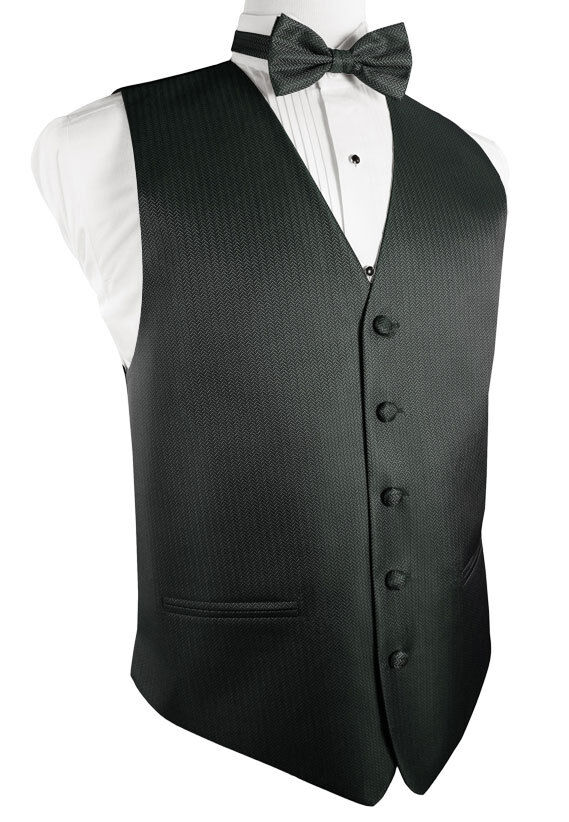 Herringbone Tuxedo Vest And Tie Sets Choose From A Wide