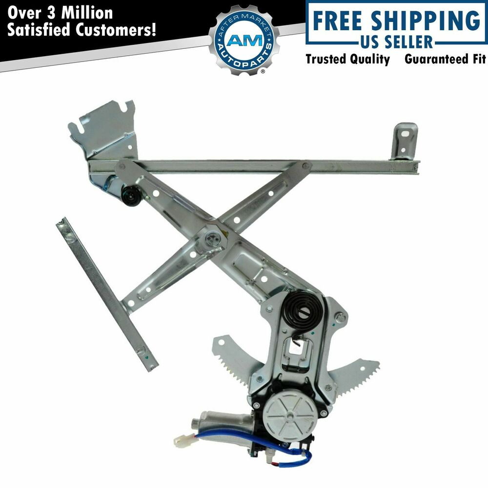 Power window regulator front door lh left driver side for Window motor and regulator cost
