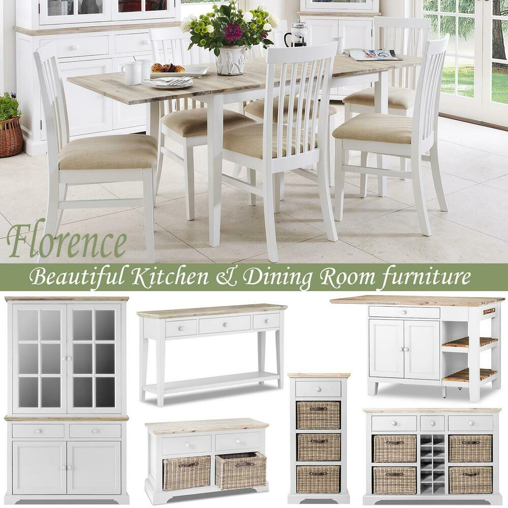 Stunning Large Round Extended Kitchen Dining Table And