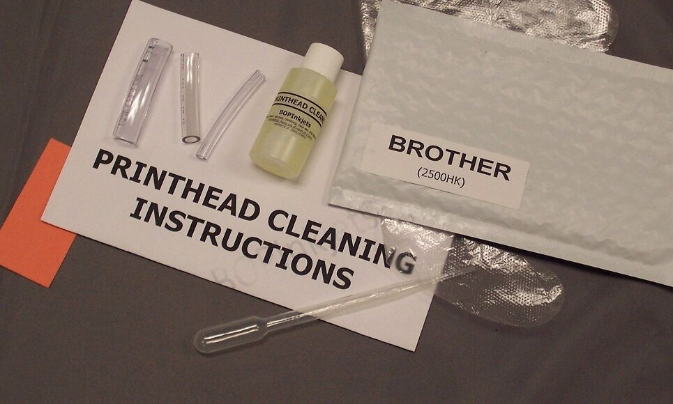 brother printhead  u0026 inkjet cleaning kit  includes tools
