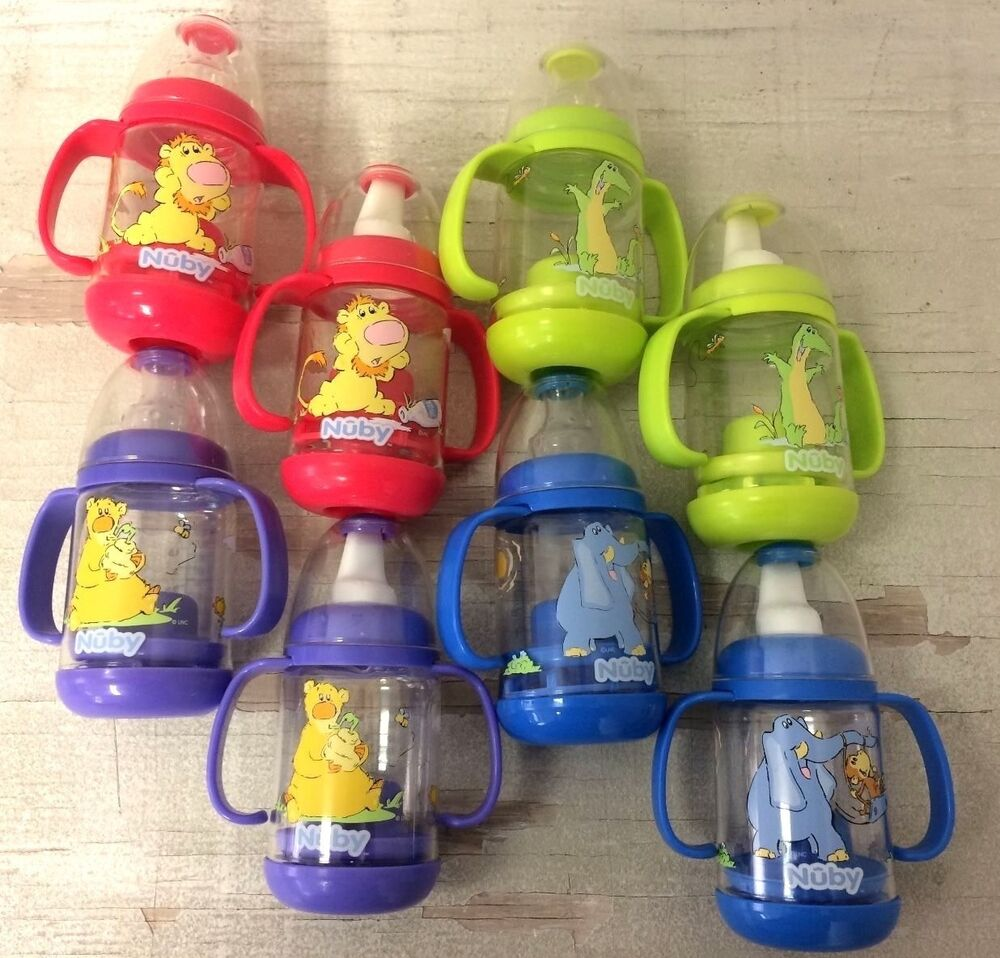 New Nuby Infant Infa Feeder Feeding Set Baby Bottles