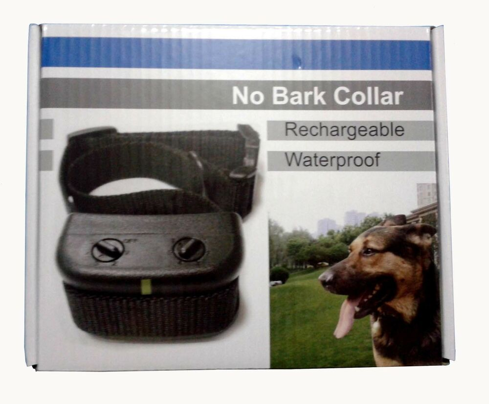 Rechargeable Bark Collar Small Dog