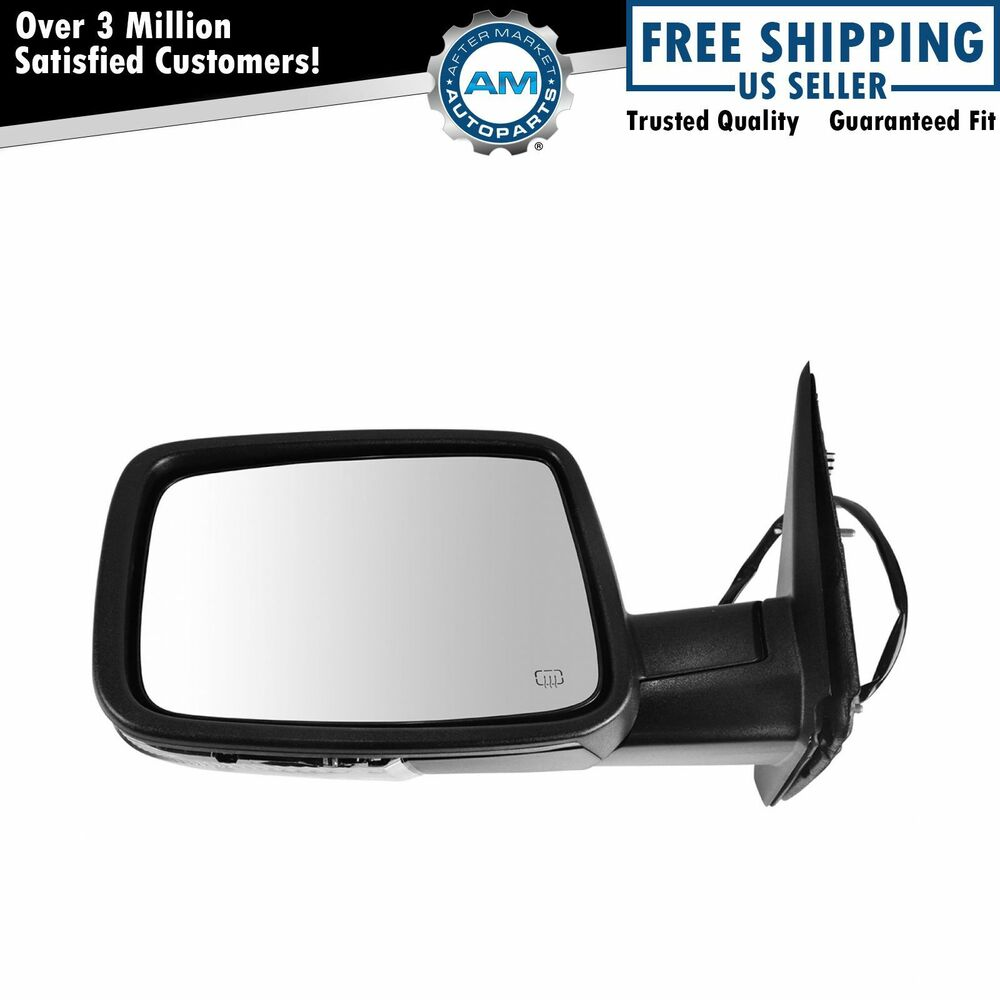 Power Heated Turn Signal Side View Mirror Driver Left Lh