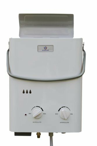 Instant Hot Water Heater Home : Ecco temp portable tankless water heater outdoor shower