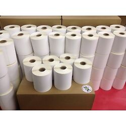 6 Rolls 4x6 Direct Thermal Labels Rolls of 250. 1500 for Zebra LP 2844 450 500
