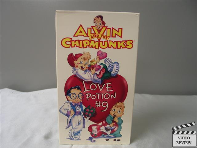 Alvin and the Chipmunks - Love Potion # 9 VHS 3 love ...