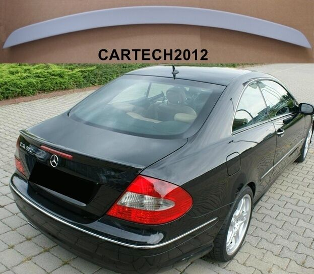 mercedes clk w209 boot spoiler tuning ebay. Black Bedroom Furniture Sets. Home Design Ideas