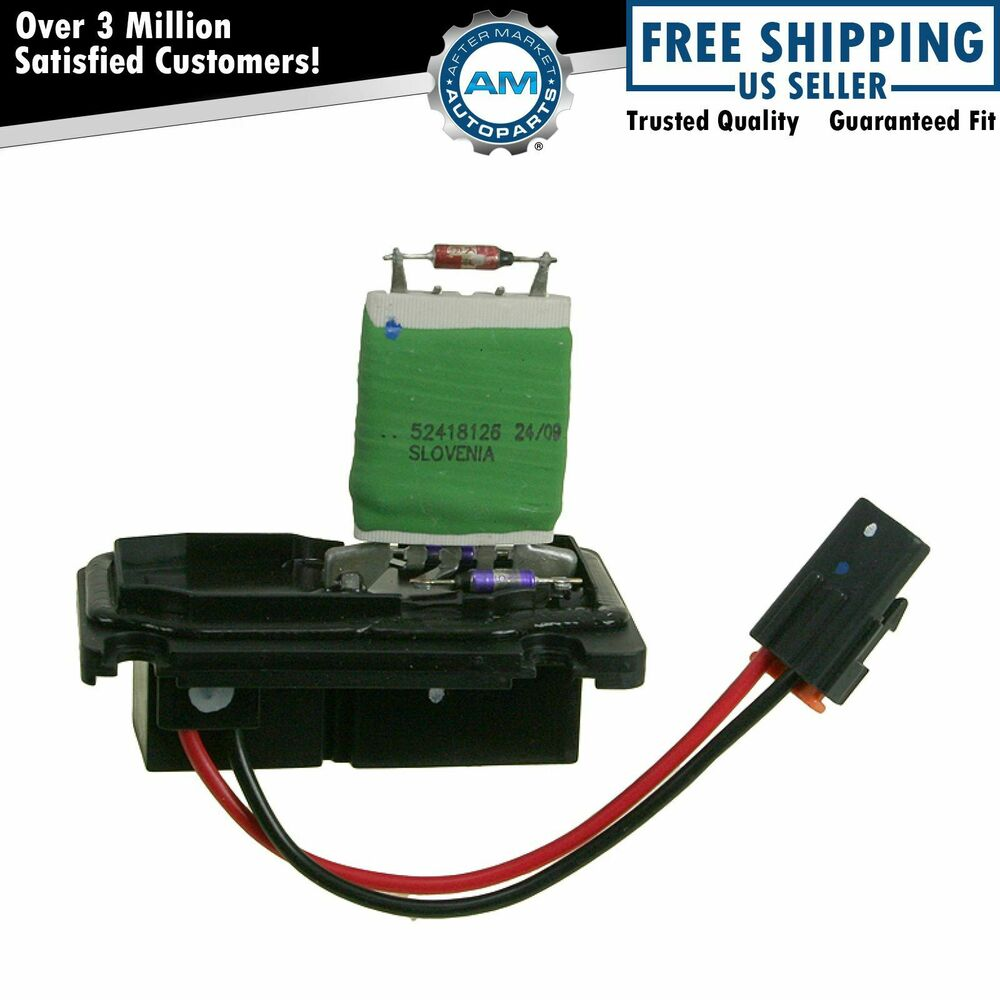 Heater a c blower motor resistor 15 80571 ac delco for for Ac delco blower motor resistor