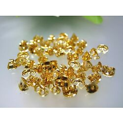 50-200 pcs vintage top quality gold plated earrings backing nuts made in USA