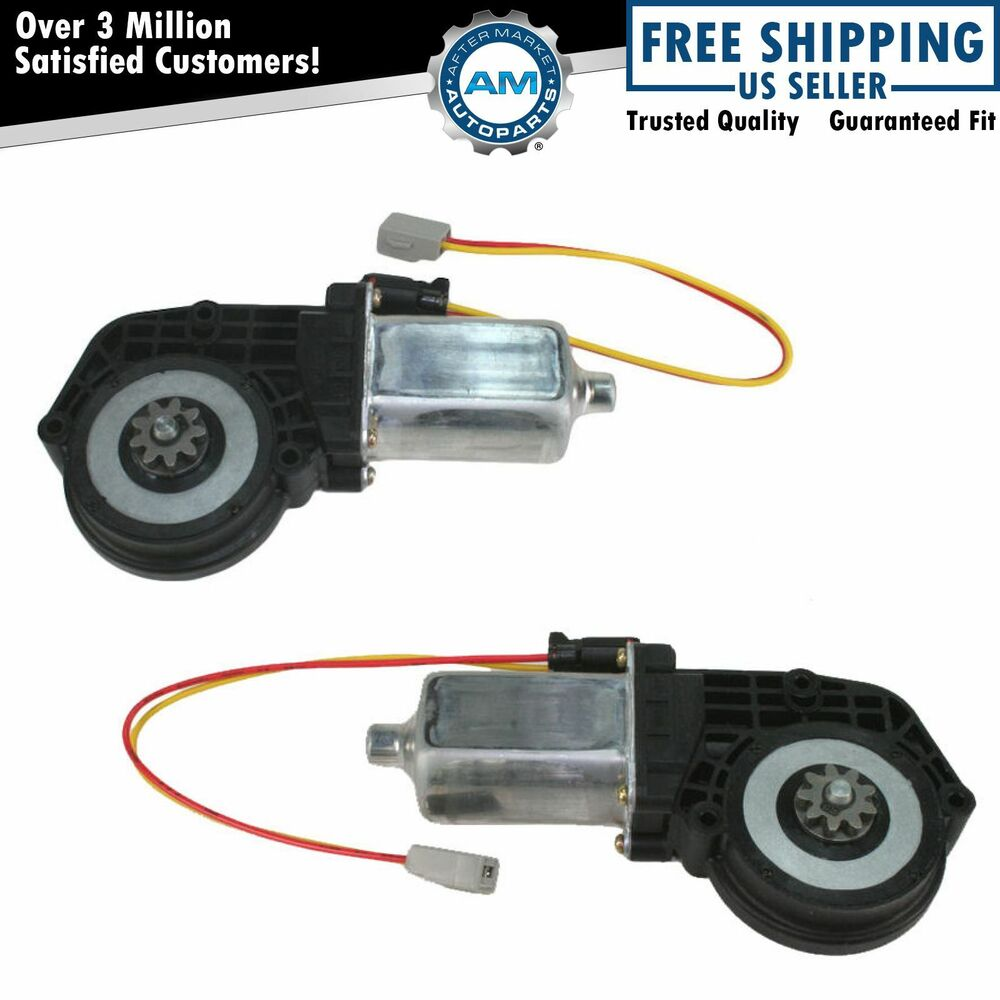 Power Window Lift Motor Pair Set Of 2 For Ford Truck