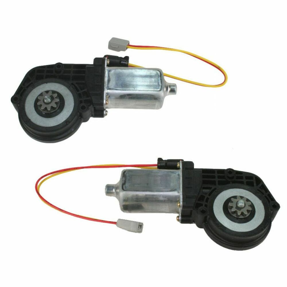 Power window lift motor pair set of 2 for ford truck lincoln town car mercury ebay Car window motor replacement